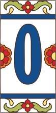 "Oracle 3"" X 6"" Ceramic Tile Address House Number Talavera..."