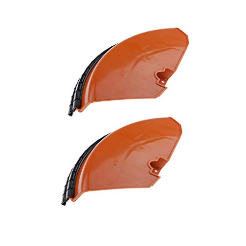 LOVIVER 2Pcs Trimmer Plastic Guard Home Improvement Tools Trimmer Strimmer Appliance Part, Compatible With Stihl FS120