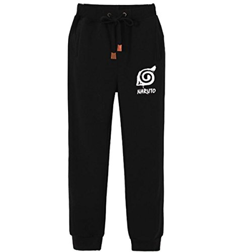 NSOKing Hot Japanese Anime Naruto Cosplay Costume Long Pants Hip Hop Rap Casual Trousers