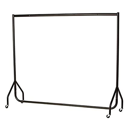 6edf475ae49fc9 Heavy Duty Clothes Rail Garment Rail 6ft Long x 5ft High SUPERIOR QUALITY:  Amazon.co.uk: Kitchen & Home