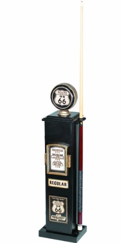 ram-gameroom-products-40-inch-route-66-texaco-gas-pump-cd-and-6-cue-holder