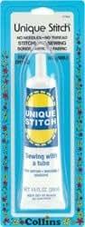 Bulk Buy: Dritz Unique Stitch Adhesive 1.25 Ounce C7902 (3-Pack)