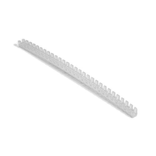 Hellermann Tyton FPB Grommet, Panel Thickness .052''-.083'', Polyethylene, Natural, 82ft Length