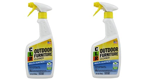 Outdoor Furniture Cleaner, Protect Outdoor Furniture Investments From Fading And Discoloration 2 Pack of 26 fl oz (Cleaner Resin Patio Furniture)