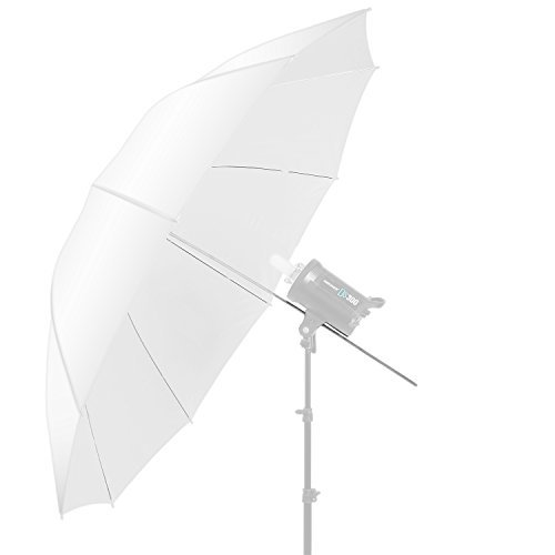 Neewer 60 inch/152cm Photography Translucent Soft White Diffuser Umbrella for Photo and Video Studio by Neewer
