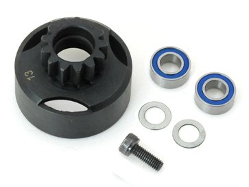 13T Teeth Clutch Bell & bearings RC Nitro buggy 1/8 .21 Engine Hyper 7 8 9