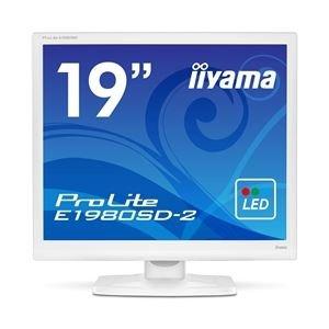 iiyama 19型液晶ディスプレイ ProLite E1980SD-2 (LED) ピュアホワイト E1980SD-W2 B07GTN2W3B