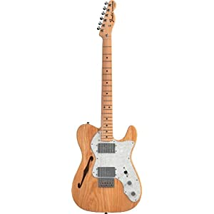 Fender 0137402321 Classic Series '72 Telecaster Thinline Maple Fingerboard Electric Guitar – Natural