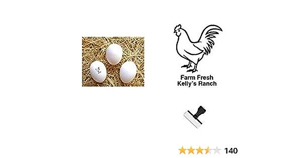 Egg Stamp FarmhouseMaven Bacon Lover Bacon Stamp Egg Carton Chickens Fresh Eggs Mini Egg Stamp Custom Egg Stamp