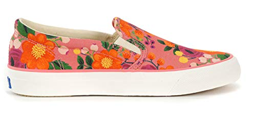 Keds x Rifle Paper Co. Women's Anchor Slip Vintage Blossom Pink 6.5 B US