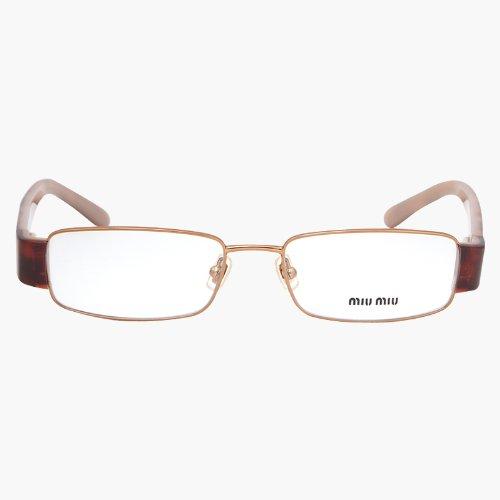 MIU MIU 7OE1O1 Men's/Women's Eyeglass Frames - - Usa Miu Miu