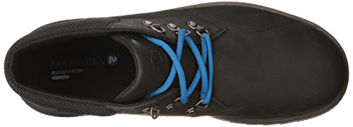 Merrell Epiction, Scarpe Stringate Uomo Black