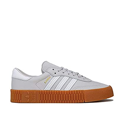 adidas Originals Womens Womens Sambarose Trainers in Light Grey – UK 5