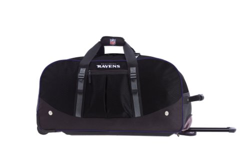 UPC 609529160037, NFL Baltimore Ravens Wheeled 29-Inch Duffel Bag