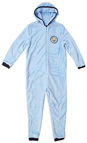 Manchester City F.C. Traje de Dormir con Capucha y Forro Polar para niños de 3 a 12 años: Amazon.es: Ropa y accesorios