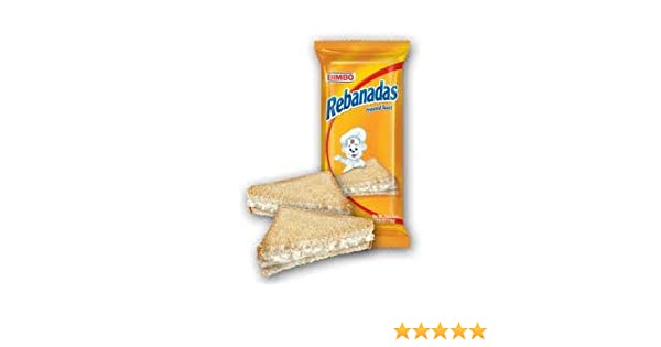 Bimbo Rebanada Twin Pack Frosted Toast Pack 3.90oz Pack of 2: Amazon.com: Grocery & Gourmet Food