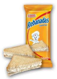 Bimbo Rebanada Twin Pack Frosted Toast Pack 3.90oz Pack of 2