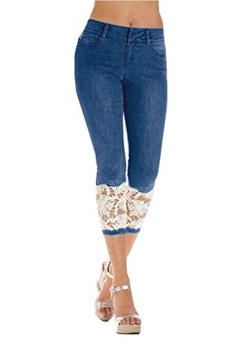 Bleu Femme W36 Bleu W36 Femme Jeans Ybenlover Jeans Ybenlover dYvn6d7