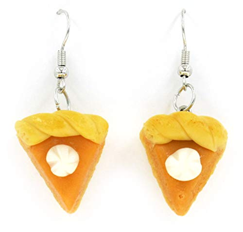 SAE99 Pumpkin Pie Big Dangle Earrings