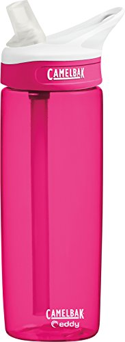 CamelBak Eddy Water Bottle, 0.6 L, Dragonfruit (Camelbak Water Packs)