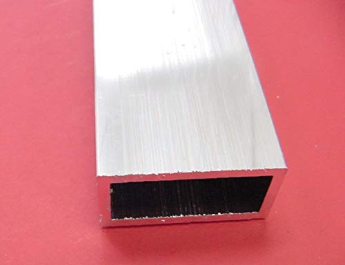 (1''x 2''x 1/8'' Wall Aluminum Rectangle Tube 6063 T52 x 10'' Long 1.0''x 2.0'' x .125'')