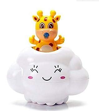 Regalo de Juguete Cuarto de baño Juego Juguetes de baño de agua Nubes de lluvia Ciervo