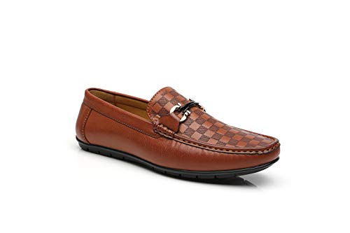Moccasins Penny Slip On Loafers Classic Comfortable Casual Driving Shoes Boat Shoes for Men ()