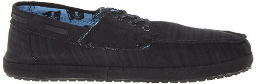 SWS Shoe Men's Black Boat Docksteady Sanuk aRw8qEna