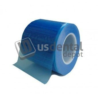 DEFEND Barrier Film Blue Roll with dispenser box - BF-2500 [ film infe 116478 Us Dental Depot