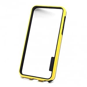 Double Color Hybrid Combo Bumper Case Cover For iPhone 5C --- Color:White