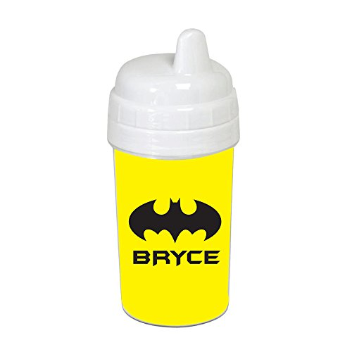 Yellow Bat Signal Sippy Cup