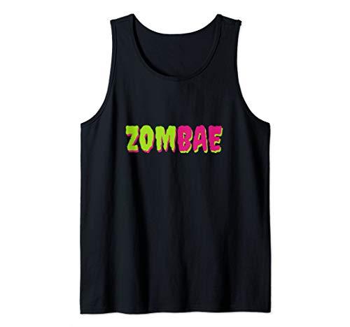 Cute Boyfriend Girlfriend Halloween Costumes (Zombae T-Shirt| Funny Zombie Apocalypse| Cute Zombie Costume Tank)