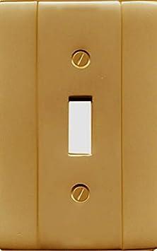 Runwireless Classic Wallplate Solid Cast Brass /_ 1-63R
