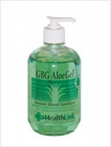 HAND SANITIZER, 18 OZ, GBG ALOE GEL by