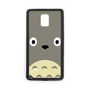 Totoro caso D0L58O4BJ funda Samsung Galaxy Note 4 funda WNEO0P negro