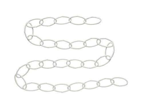 National Hardware 36'' Wht Extension Chain,White,6-Pack
