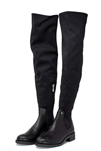 Nero Neopene Xdo002 Xv056 Stivali Armani Boot Long Donna Exchange HgaacWZ