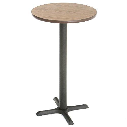 Round Pub (Metal Oak Pub Table)