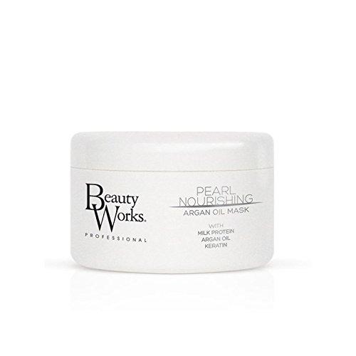 Beauty Works Pearl Nourishing Argan Oil Mask (Pack of 6) - 美し作品真珠栄養アルガンオイルマスク x6 [並行輸入品] B071V82N4N