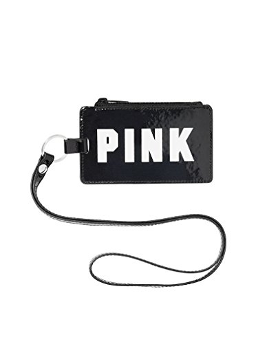 Victoria's Secret Pink New Lanyard Color Black/Clear NWT