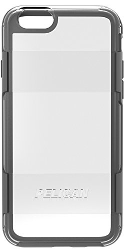 Pelican Adventurer Case for Apple iPhone 6 Plus/6s Plus - Retail Packaging - Clear/Grey Photo #2