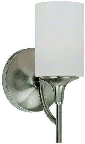 Sea Gull Lighting 44952-962, Stirling Glass Wall Sconce Lighting, 1 Light, 75W, ()