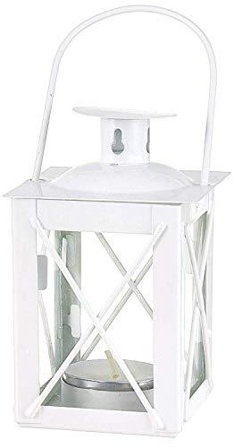Kate Aspen Decorative Lantern, Vintage Metal Tealight Candle Lanterns, Centerpiece for Wedding Table, Accent Piece & Party Favor, 6 Sets]()
