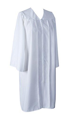 GraduationService Unisex College Graduation Gown Only Choir Robe Matte Finish]()