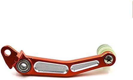 Leva pedale cambio Alluminio,Leva del cambio e leva del freno a pedale,Per KTM Duke//RC 125 200 390 CNC arancione