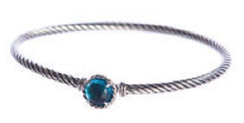 Chatelaine Bracelet (Blue Topaz) (David Yurman Topaz Bracelet)