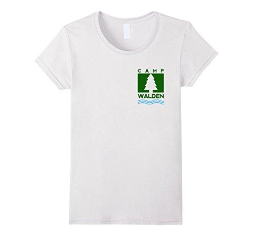 Women's Camp Walden Pocket T-Shirt | Girls Summer Camp Te...