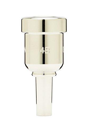 Denis Wick DW6881-4B Heavytop Silver-Plated Cornet Mouthpiece