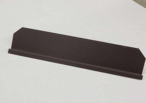 Gutter Valley Splash Guard - Straight (Royal Brown (3 CT))