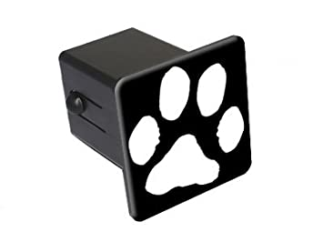 Paw Print Tow Trailer Hitch Cover Plug Insert 2